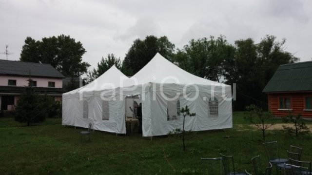 Установка шатров