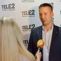 Пресс конференция Tele 2