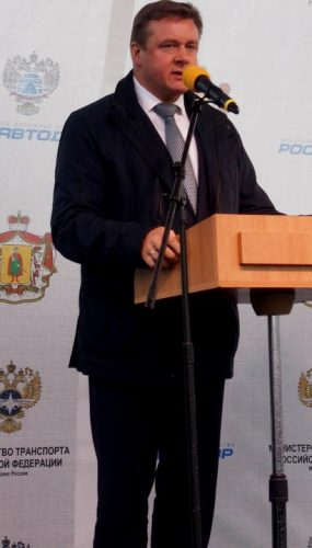 МОСТООТРЯД 22 – церемонии открытия моста через р. Проня
