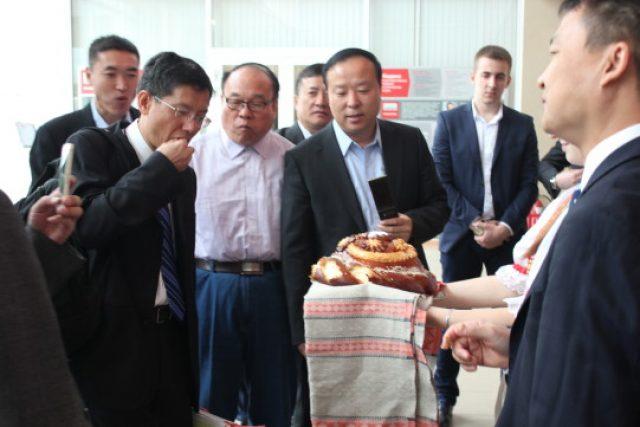 Делегация из Китая в ТехноНИКОЛЬ