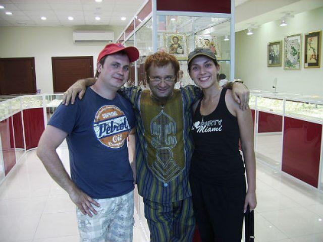 Русское Золото – открытие салона