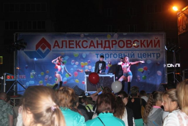 ТЦ Александровский — День рождения