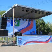 День флага в с. Дединово
