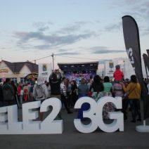 Tele 2 – промо активность на празднике – День города Рыбного