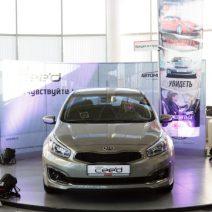 Презентация Kia Ceed 2016 в автосалоне Корея Кар