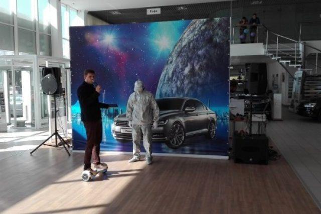 Кейтеринг в Volkswagen