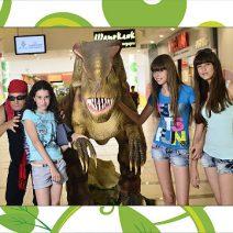 Динозавры в М5 Молл