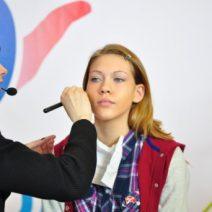 Модный make up